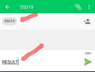 Jamb Result Via SMS