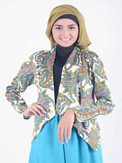 baju batik wanita modern 2018