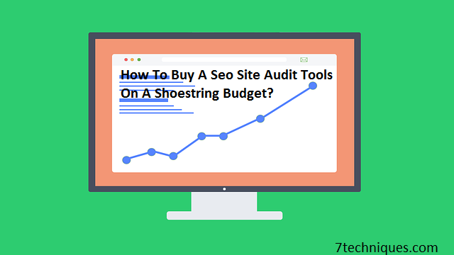 How To Buy A Seo Site Audit Tools On A Shoestring Budget?