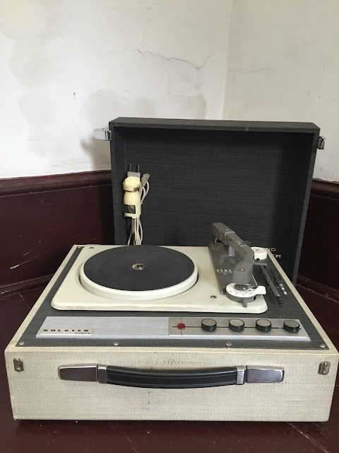 gira discos, record player, vintage, Kolster, Maryland, Made in west germany, anos 60, anos 70