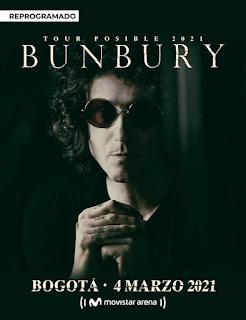 Concierto de Enrique Bunbury en Colombia 2021