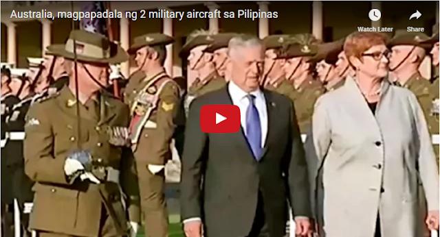 WATCH   Australia, magpapadala ng 2 military aircraft sa Pilipinas