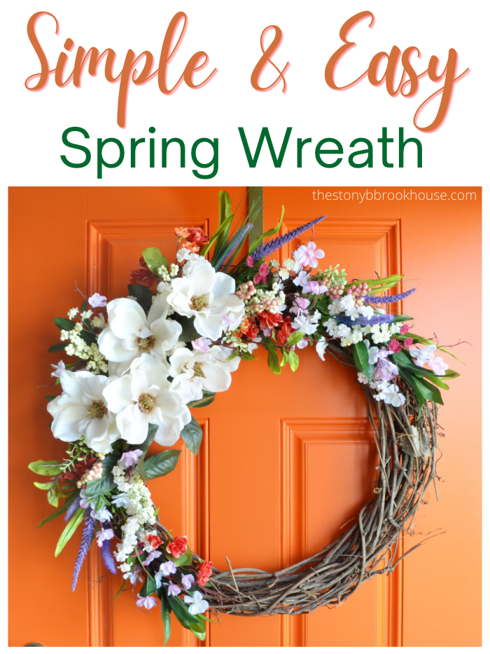 Simple & Easy Spring Wreath
