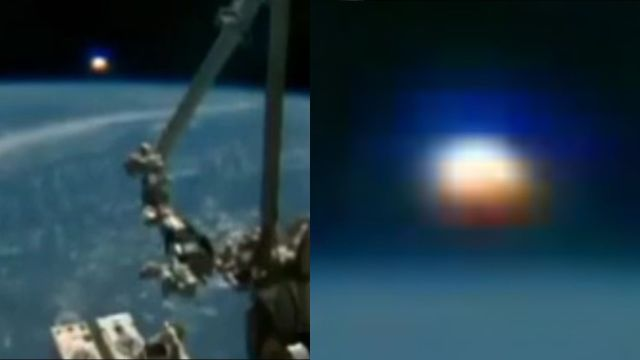 Huge spherical object spotted on the ISS live stream  Nasa-iss-ufo