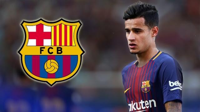 كوتينيو يحدد مستقبله مع برشلونة