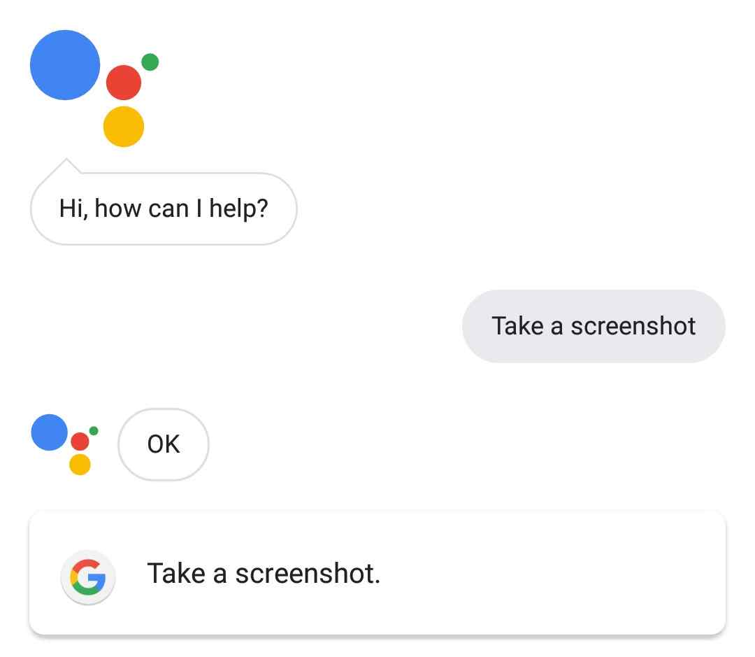 how to take a screenshot on any infinix phone making use of Google Assistant