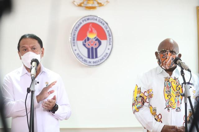 Klemen Tinal Sebut Masyarakat Sekitar Venue PON XX Papua akan Divaksin