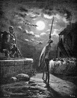 Don Quijote en el nuevo mundo II, Clavileño en América, Tomás Moreno