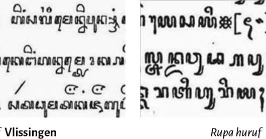 Untuk diperhatikan, belajar aksara jawa mungkin akan sangat berbeda dengan belajar aksara latin abc. Logam Huruf Jawa I: Aksara Pribumi dan Teknologi Eropa