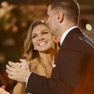 Simona Halep Wedding Photos