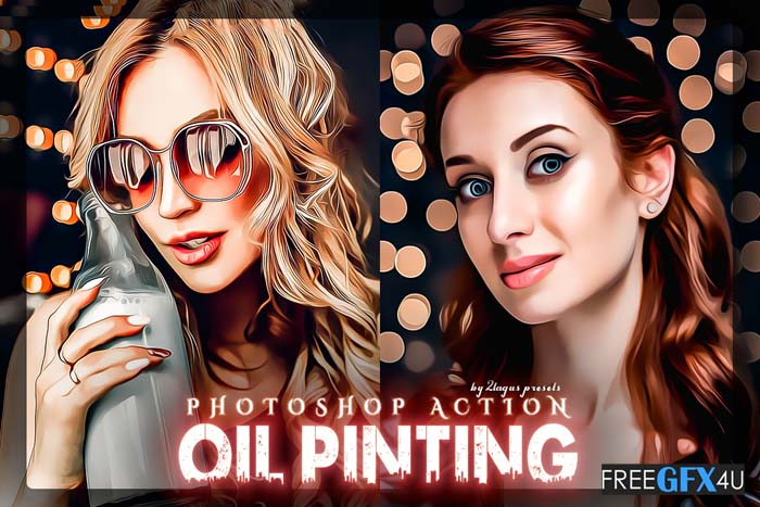 Graphicriver - Oil Painting Photoshop Action