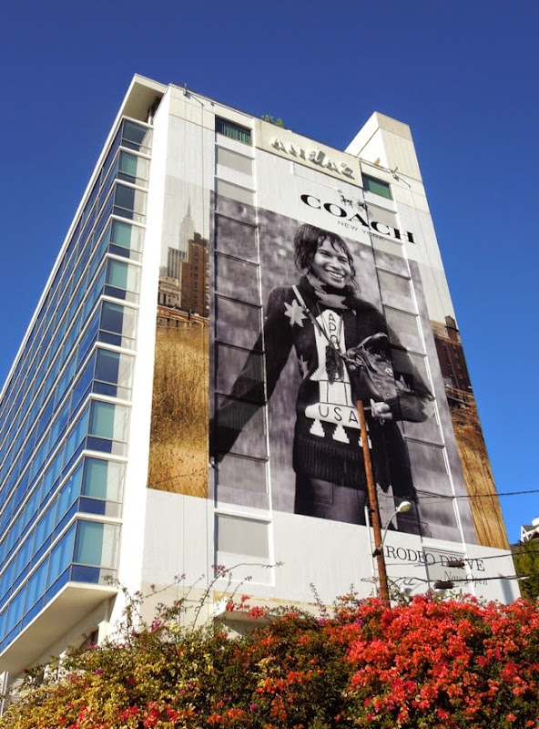 Giant Coach FW14 Rodeo Drive store billboard