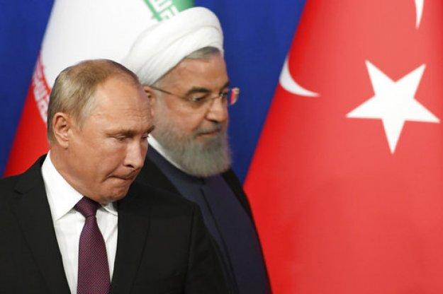 Πούτιν και Τεχεράνη έχουν... μήνυμα: Η Συρία δεν σας ανήκει!