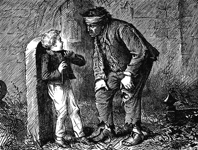an F.A. Frazer illustration for a Charles Dickens book