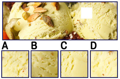 Figure: Let's hope we're not driving you nutty… which square is missing?