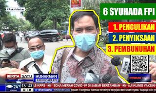 Bongkar Bukti Terbaru! Munarman: Kasus 6 Syuhada FPI Semakin Jelas, Ini PENCULIKAN - PENYIKSAAN - PEMBUNUHAN