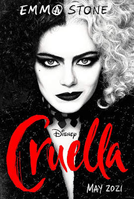Veja Emma Stone Como Cruella de Vil no Primeiro e Ecléctico Trailer de Cruella