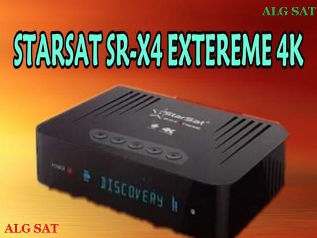 أخر تحديث جهاز Starsat X4 EXTREME 4K  إصدار 3.2.4