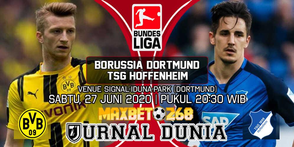 Prediksi Borussia Dortmund Vs TSG Hoffenheim 27 Juni 2020 Pukul 20.30 WIB