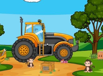 Games2Jolly Giant Tractor Escape