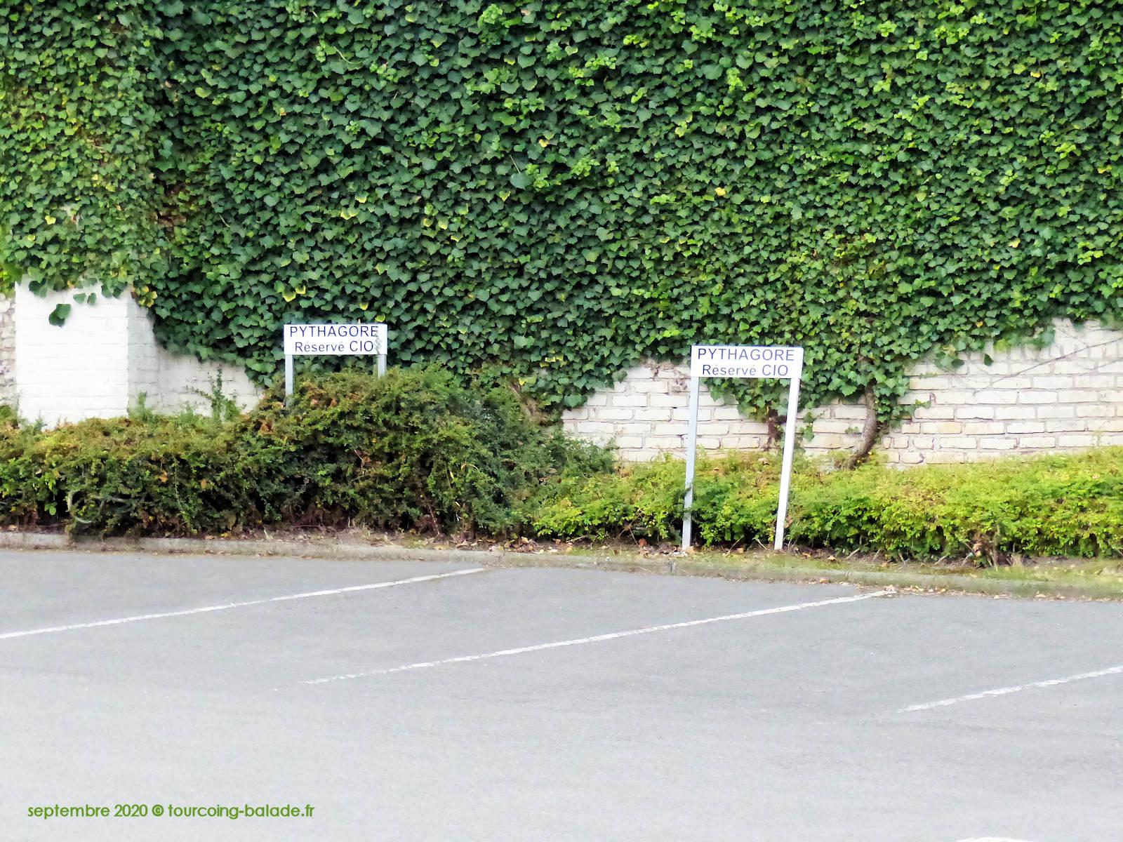 CIO Tourcoing, Parking réservé