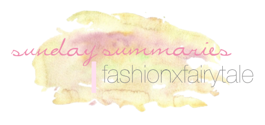 Sunday Summeries | July 22, 2012