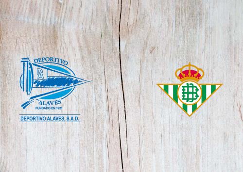 Deportivo Alavés vs Real Betis -Highlights 13 September 2020