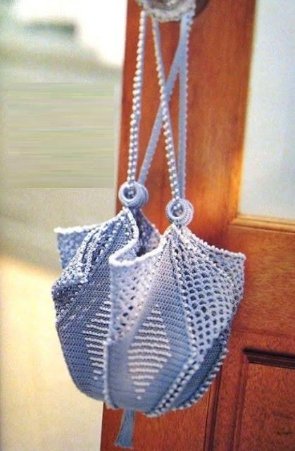 wzór torebki szydełkiem