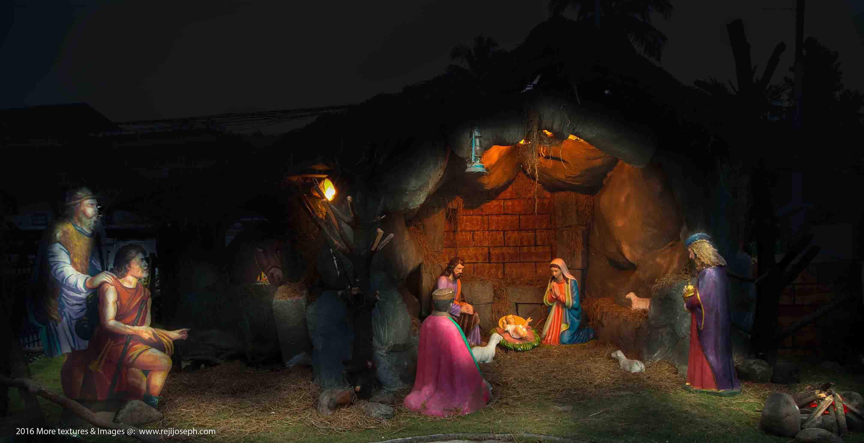 Christmas crib Pulkoodu St. Teresa's church ernakulam 00001