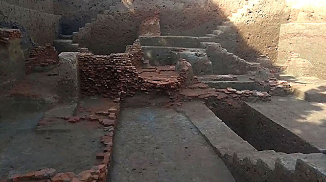 Ancient stupa complex unearthed in Bangladesh