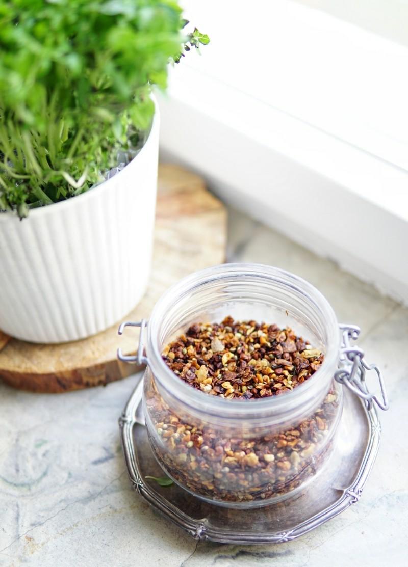 itsetehty salaatin lisäke