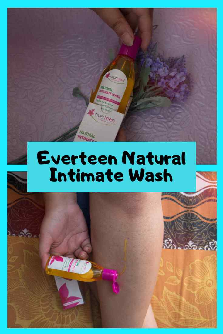 Everteen Natural Intimate Wash Pinterest