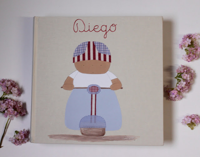 oferta en álbumes de fotos infantiles personalizados