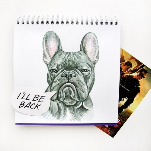 25-The-Terminator-Valerie-Susik-Валерия-Суслопарова-Cats-and-Dogs-Interactive-Animal-Drawings-www-designstack-co