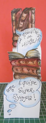 carte plis médiathèque, vue de face, malooka