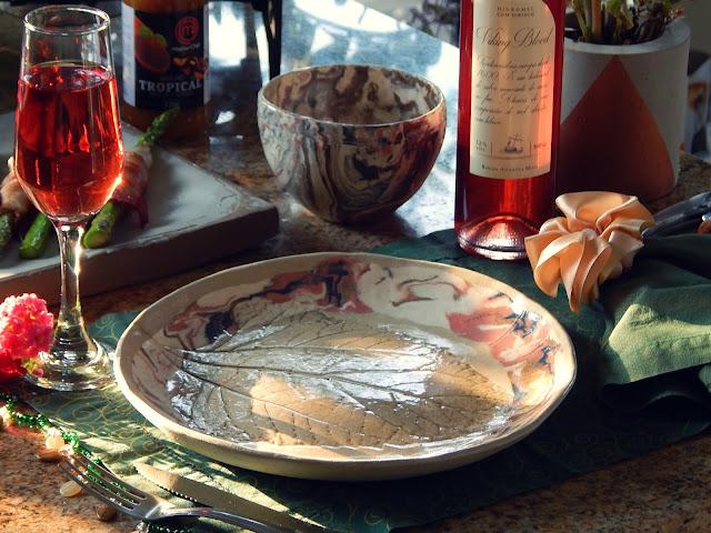 Receita de Aspargos com Bacon e Hidromel na Taça