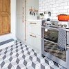 19 Beautiful Kitchen Floors Design Ideas images on kitchendesignmodel.com