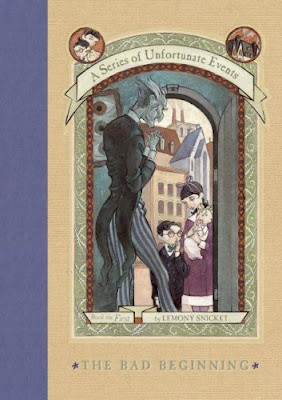 Book Review: The Bad Beginning (Series of Unfortunate Events, Book 1), By Lemony Snicket Cover Art