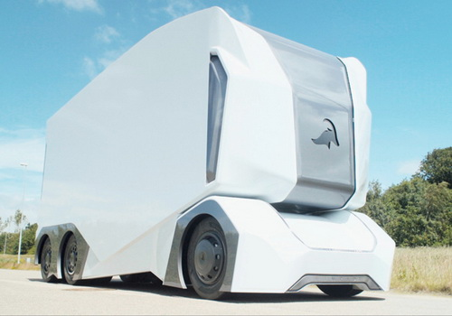 Tinuku Einride unveiled T-Pod as autonomous electric-powered truck