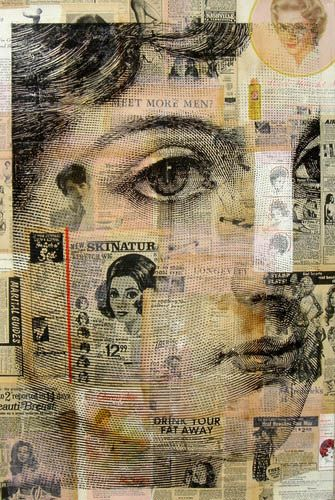 Paperartsy 2015 Topic 19 Faces Challenge