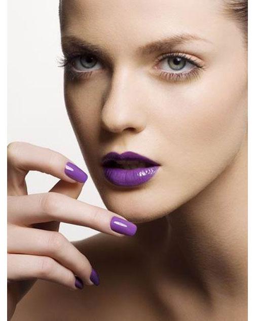 Perfect Match Lipstick And Nail Polish Geeks Fashion