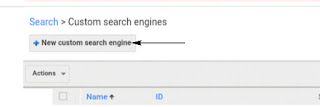 add Google Custom Search Box blogger