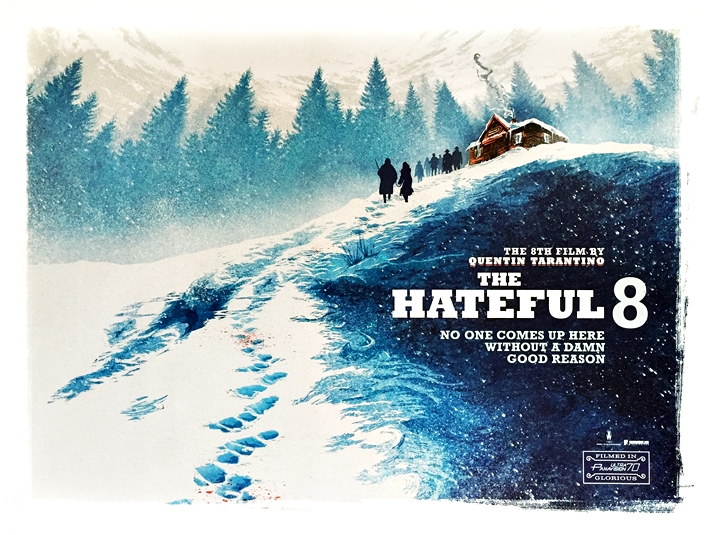 Póster: The hateful eight