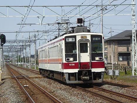 東武日光線 普通 新栃木行き5 6050系