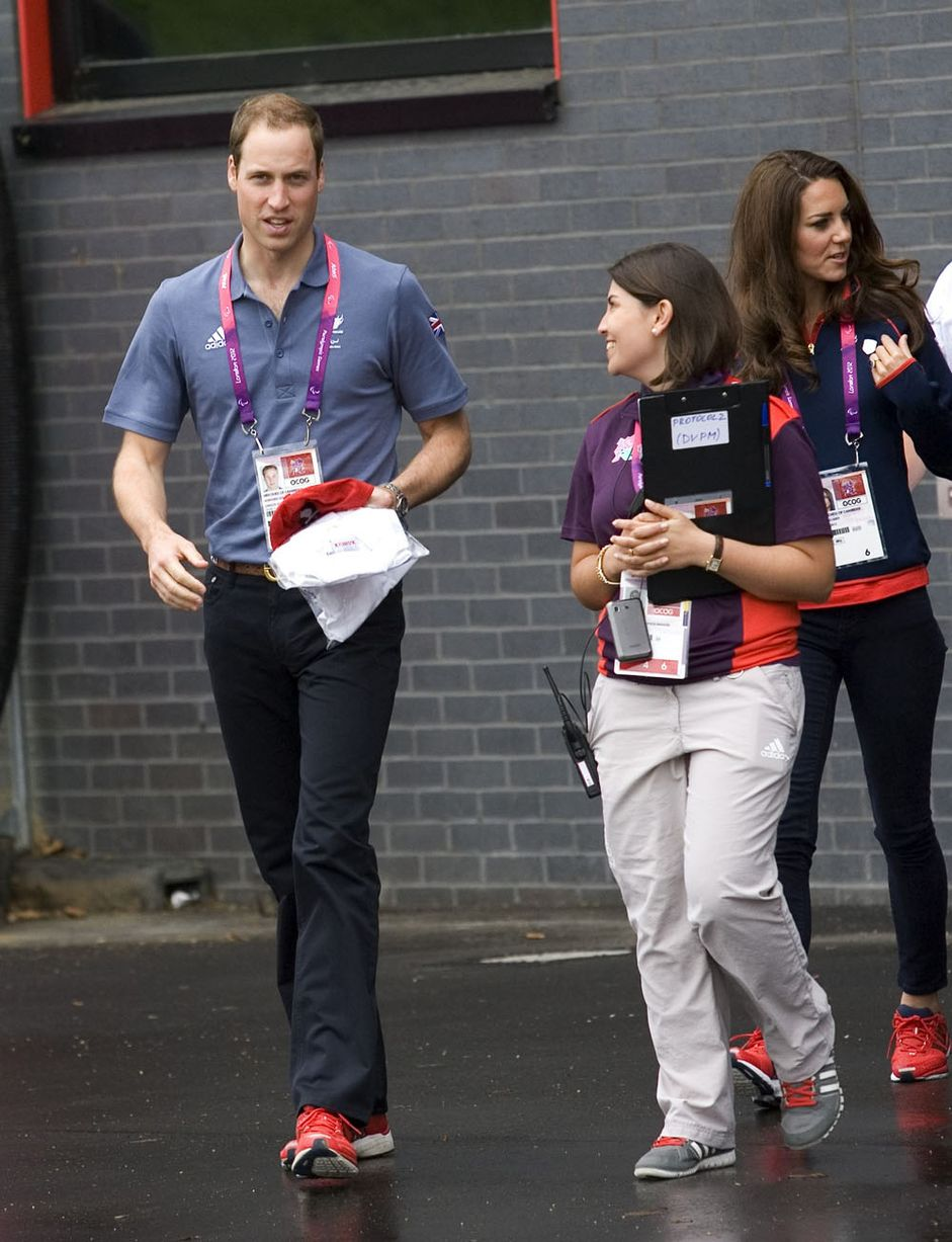 e68642c91 Duchess Kate  Kate in Team GB Shirt for Paralympic Events