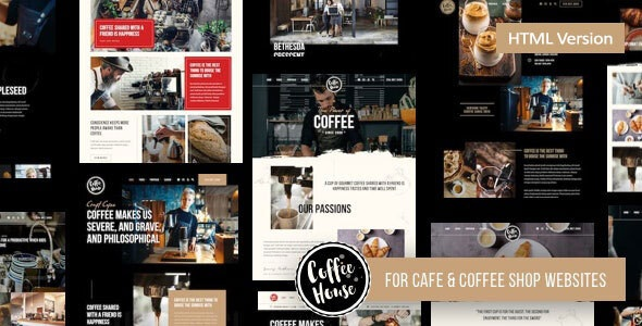 Best Coffee Shop Cafe Restaurant HTML Template