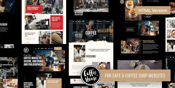 Best Coffee Shop Cafe Restaurant HTML Template