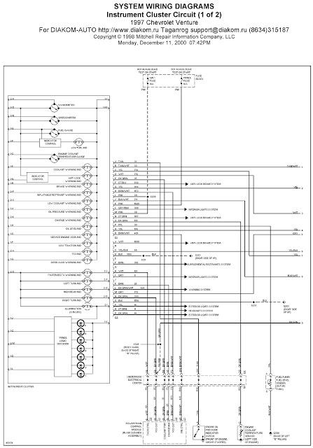 chevrolet venture engine diagram