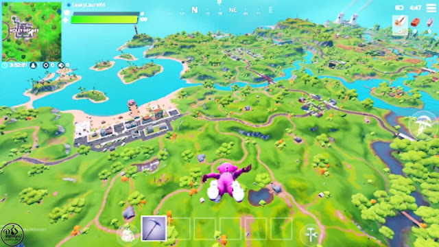 fortnite - فورت نايت | خريطة اللعبة كبيرة وشاملة للغاية