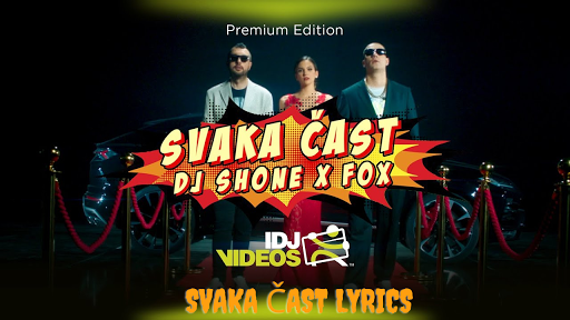 DJ SHONE &FOX - Svaka Čast Lyrics